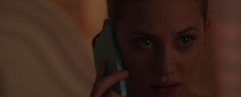 Betty talking to the Black Hood (CW / Riverdale)
