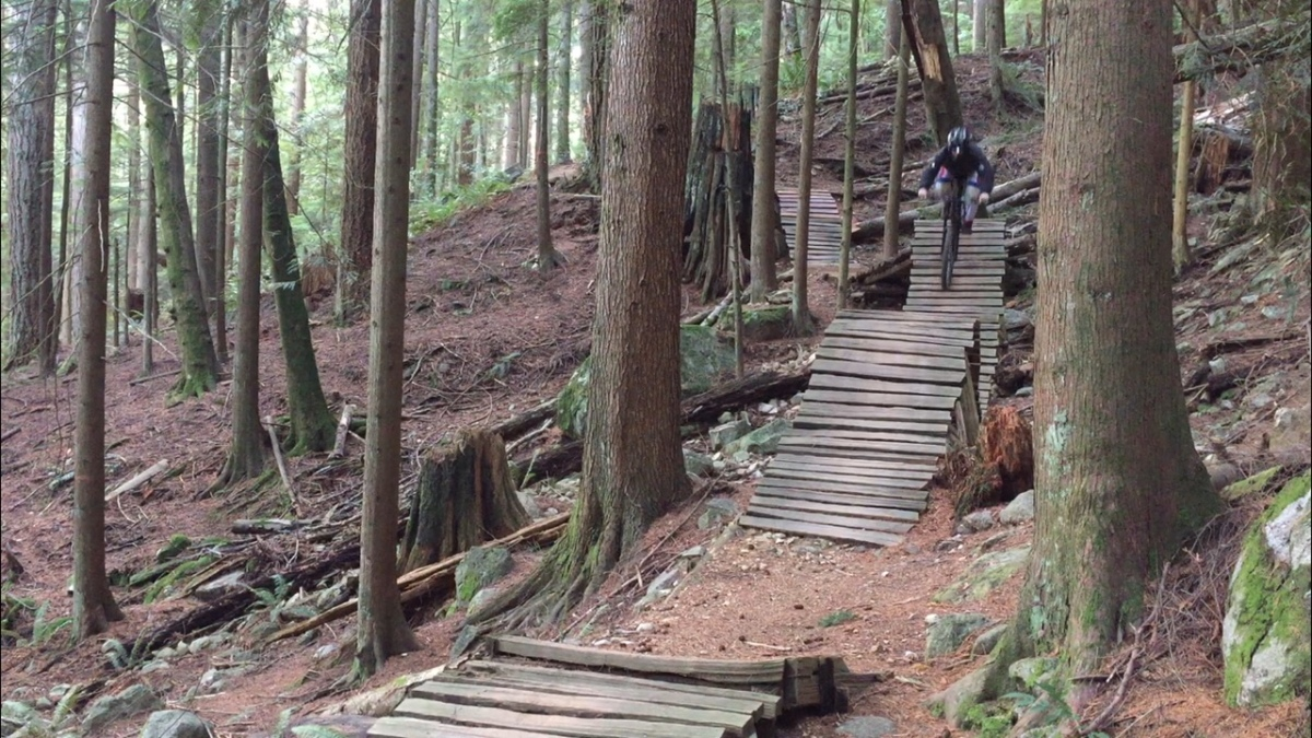 Technical Trail Feature: The difficulty levels of mountain biking trails