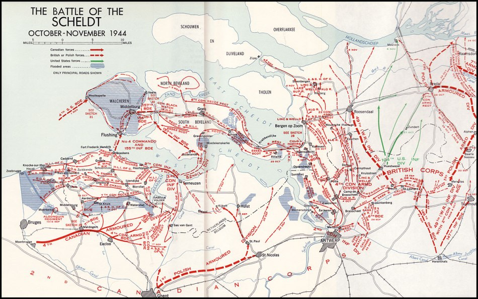 canadian-battlefield-tours-battle-of-the-scheldt-map